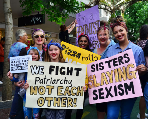 Image credit:  Womens March NZ