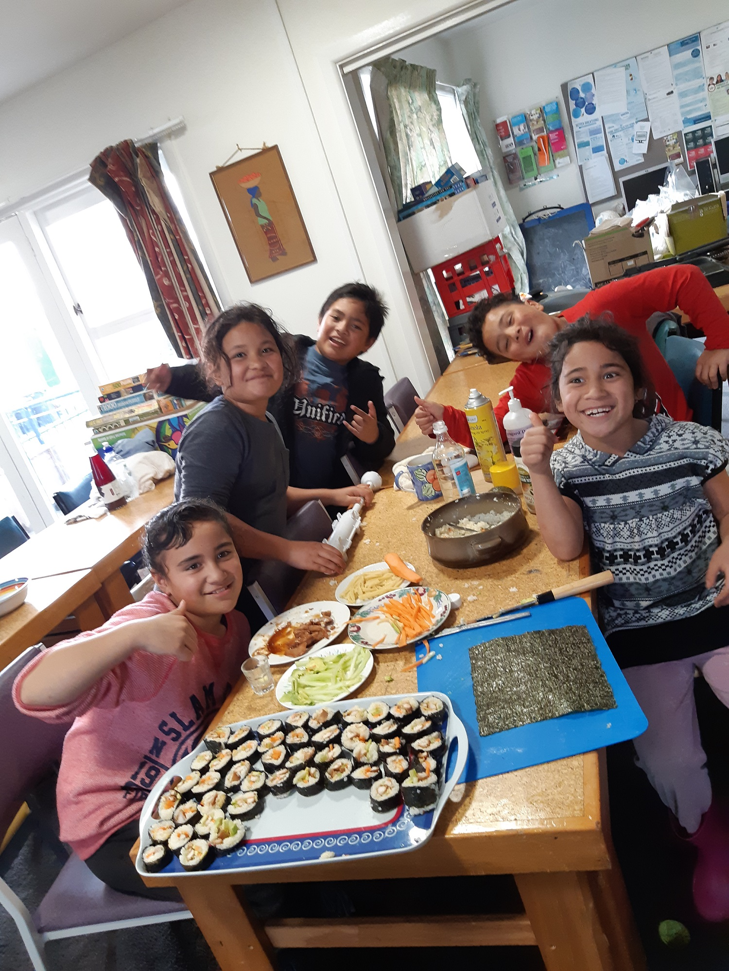 Sushi Making Lessons at the Y Christchurch