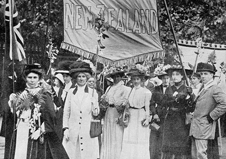 New Zealand suffragists