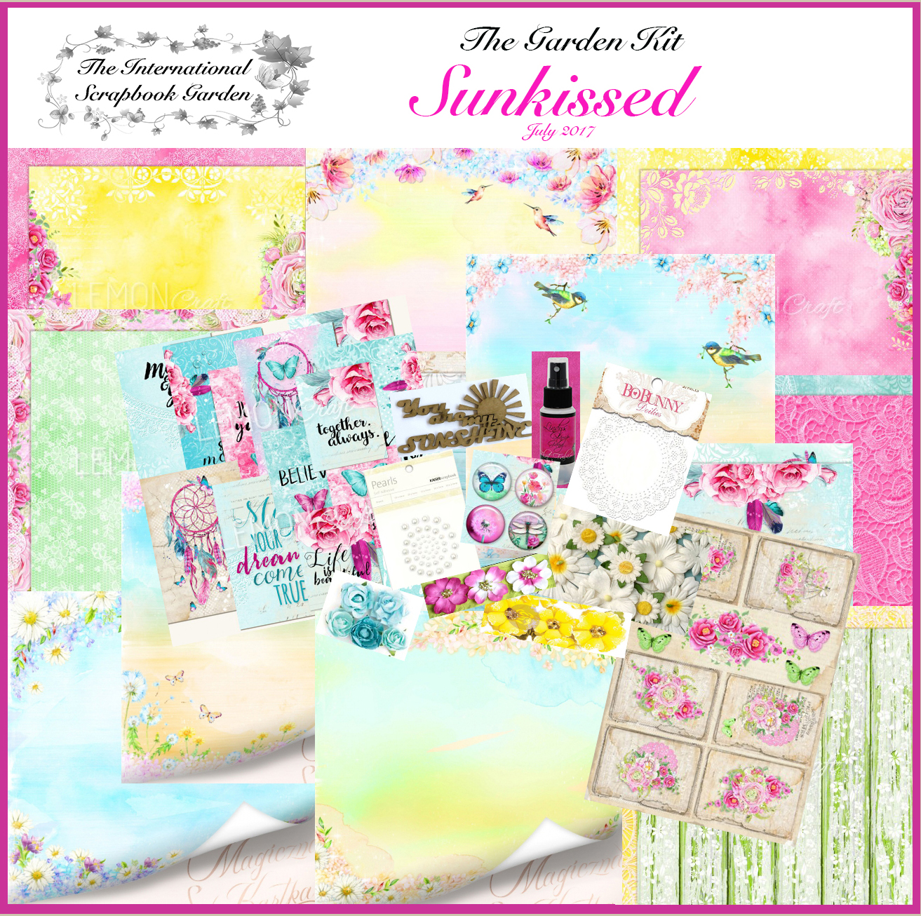 The Garden July Kit: Sunkissed