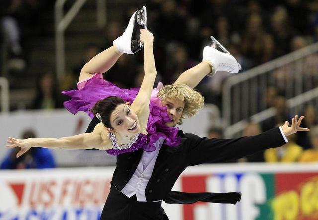 Meryl Davis and Charlie White, 2014 Olympic Champions
