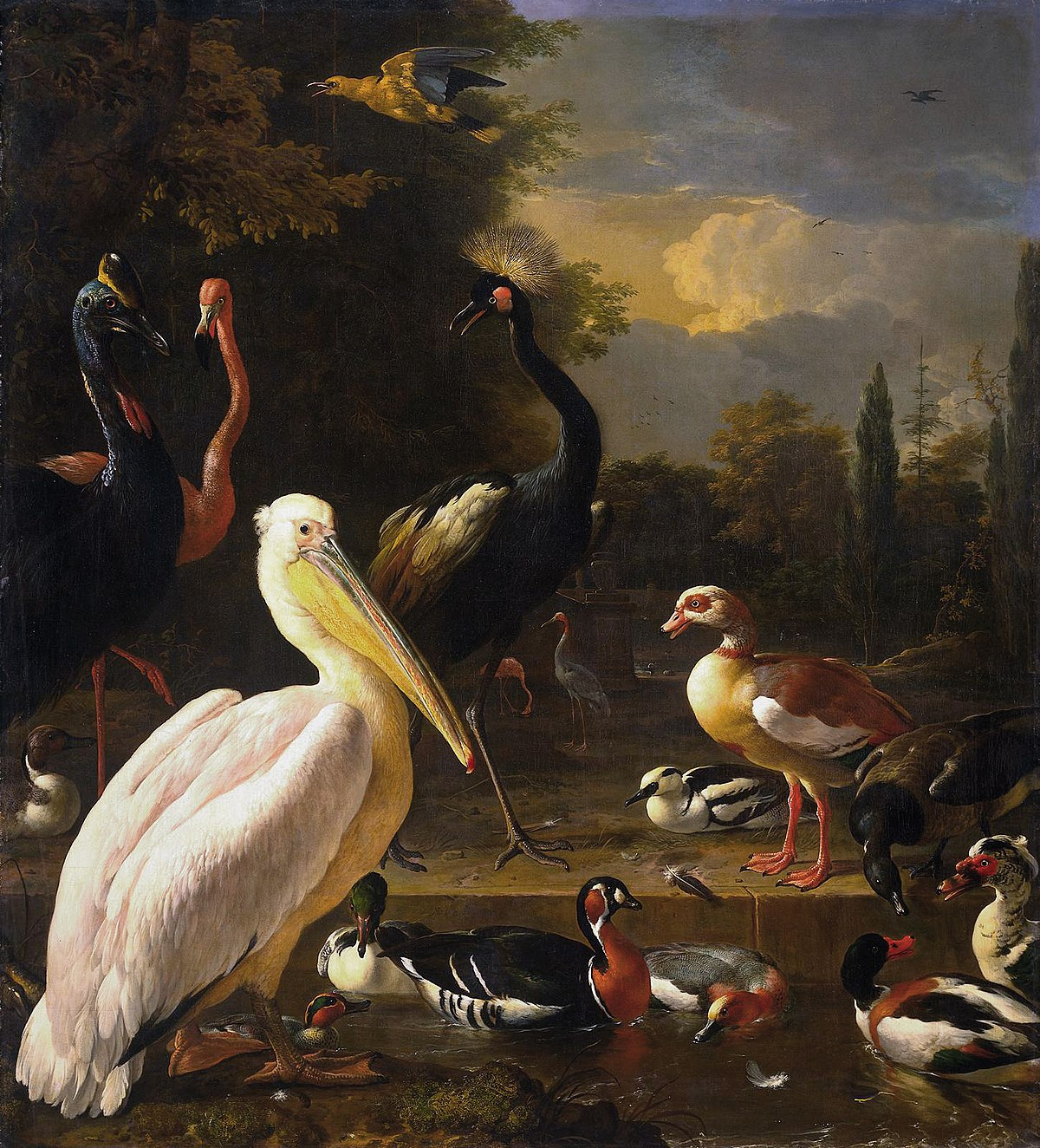 Birds in Art: Floating Feather 1680