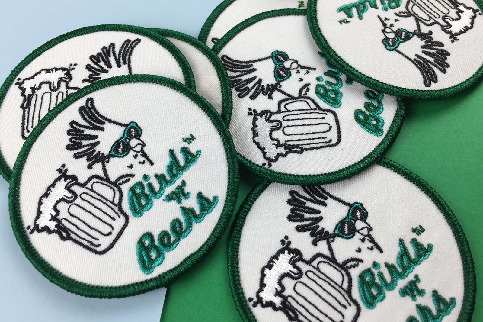 Copyright Sydney Bird Club Patches