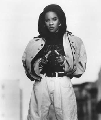 MC Lyte, At twelve years old, MC Lyte wrote a rap breakup song that also served as social commentary for life