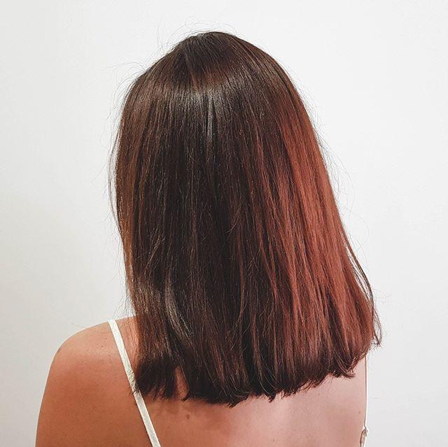 Hair repair work done. Healthy looking hair in 3 visits! 1️⃣ 2️⃣ 3️⃣ #hairbyus⠀ ⠀ #hairdresser #sanctuarysalonandspa #albury #alburywodonga #thisistheborder #alburycbd #avedasalon #aveda #hairdresseralbury