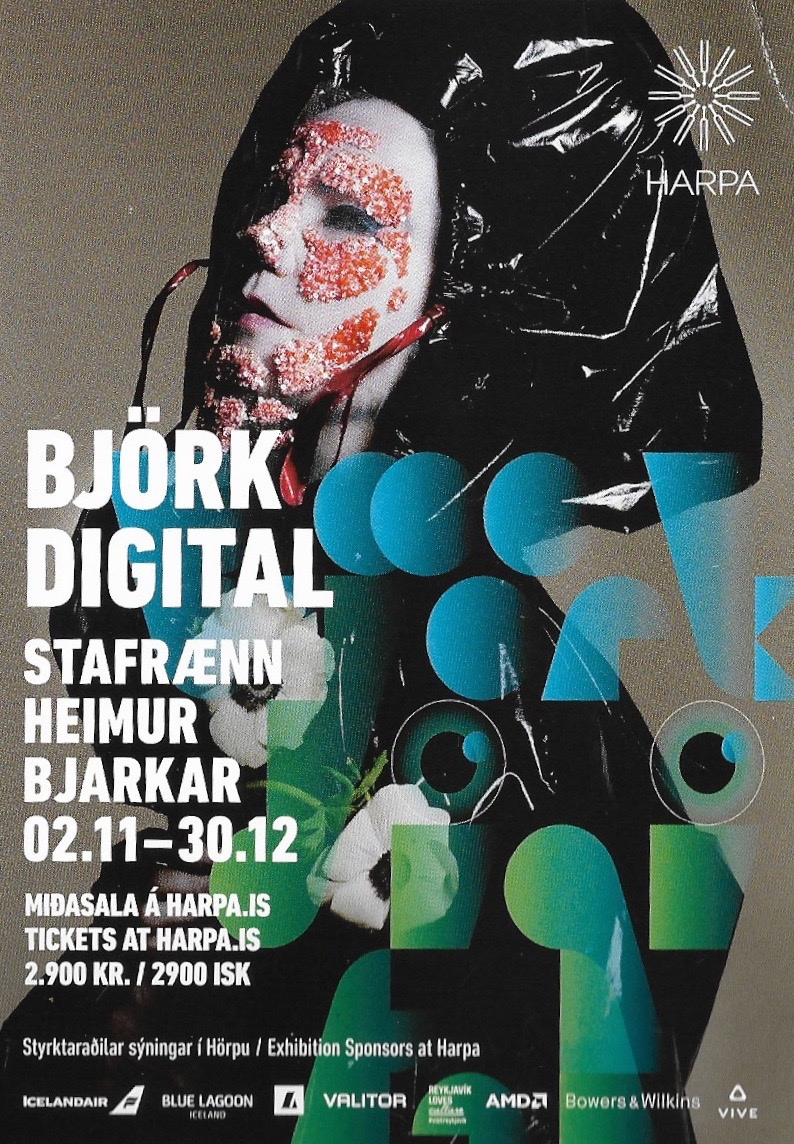 I had a road to Damascus experience with VR in November 2016 in Reykjavik at the Harpa with Bjork's VR from Rewind and her Vulnicura album -
