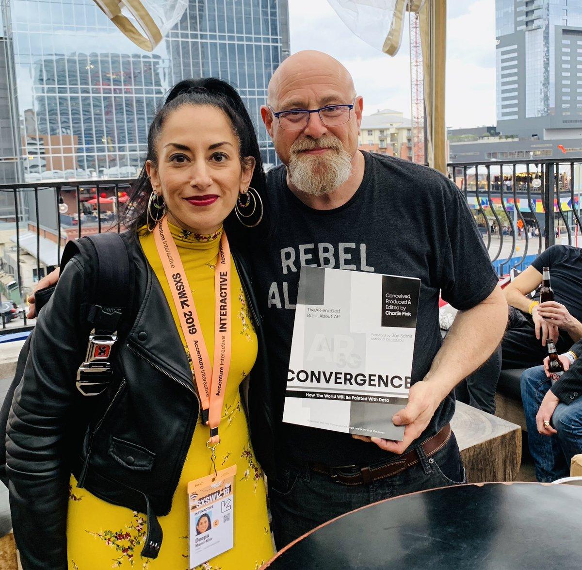 "Charlie Fink book launch ""Convergence"" at Speakeasy with Deepa Mann-Kler"