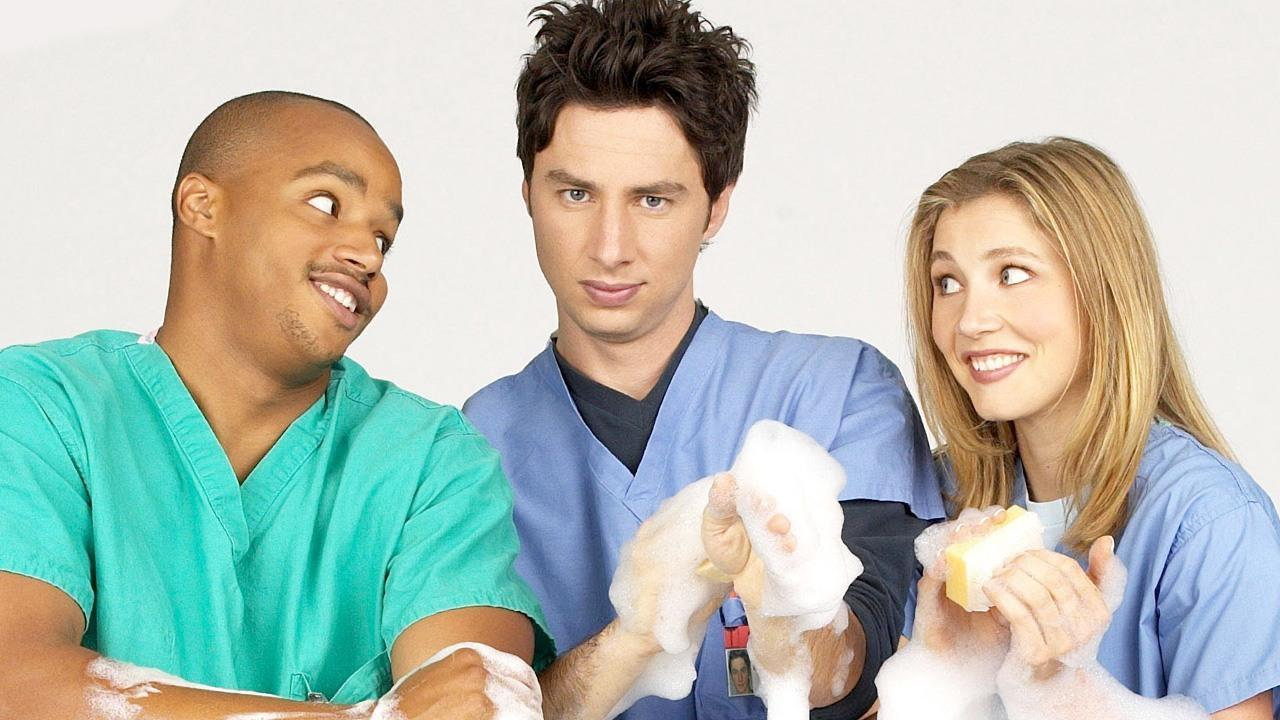 Medicine is often dramatised, leaving out many of the challenges of the profession (Image: Scrubs, Disney-ABC)