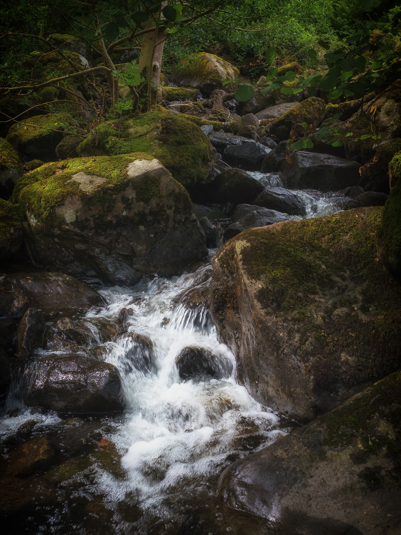 The Bottom Of Scalehow Force Waterfall