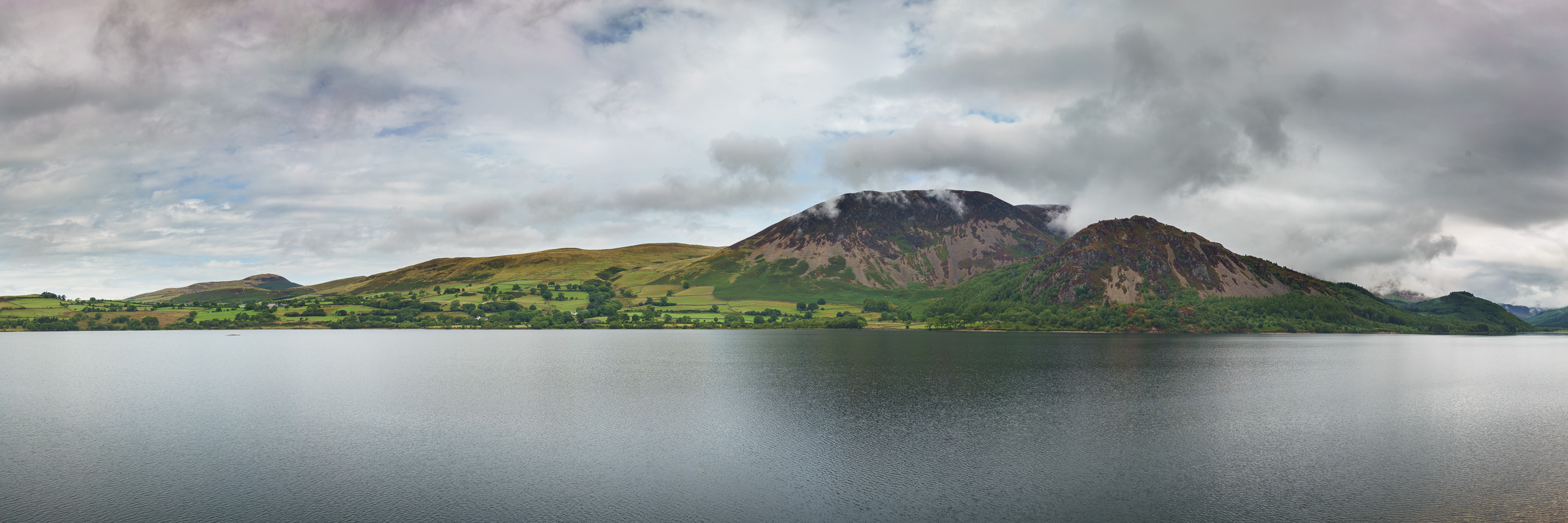 The Panorama From Angler's Crag