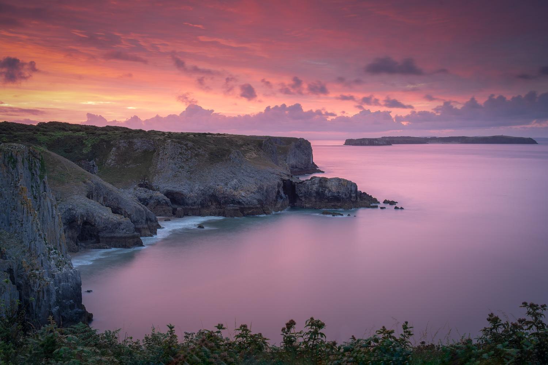 The View Towards Caldey Island