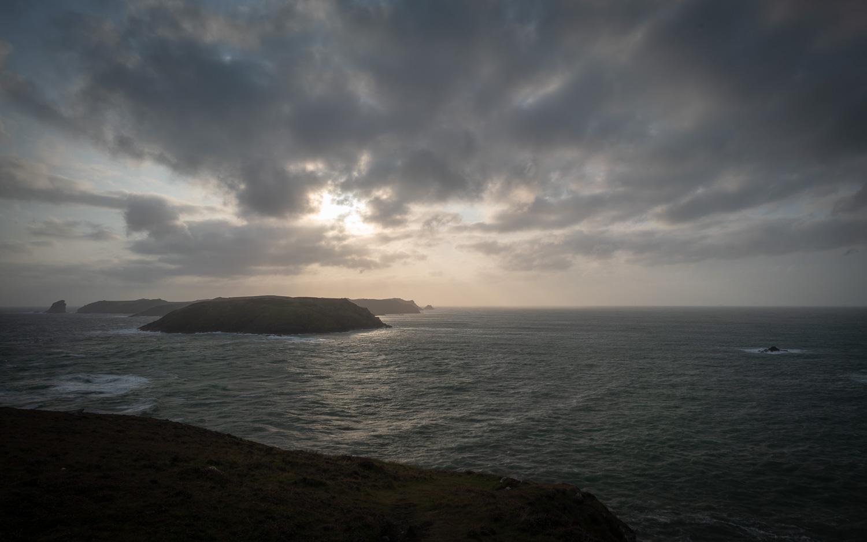 The view towards Skomer Island