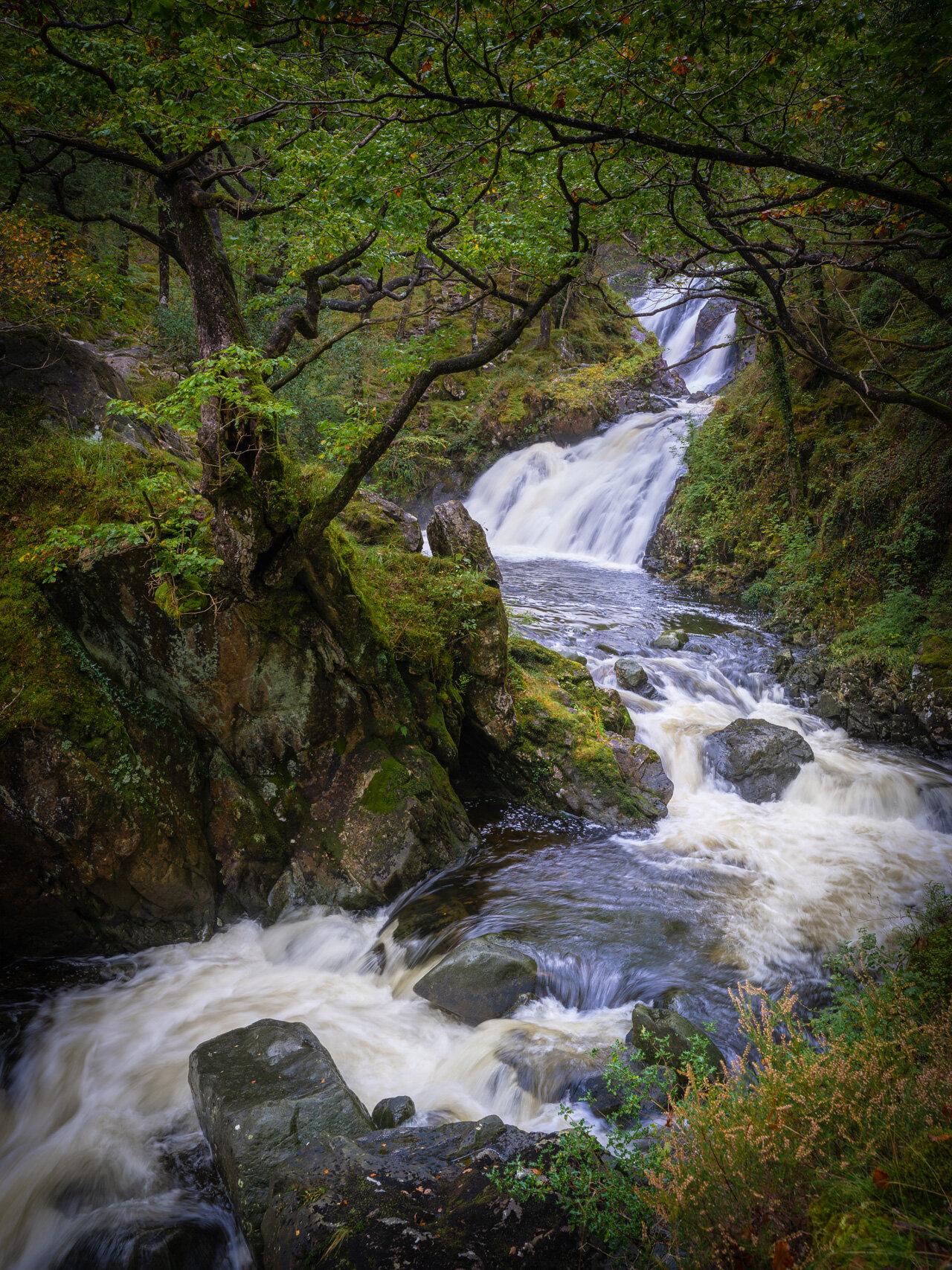Waterfall On Afon Camlan II.