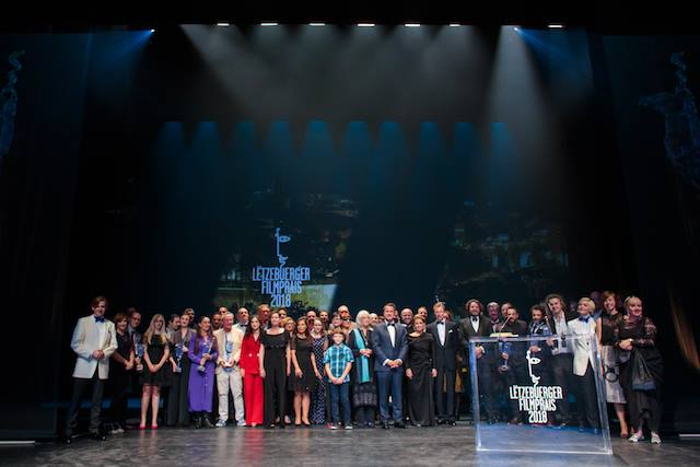 LES FILMS FAUVES wins BEST FEATURE for Gutland and BEST PERFORMANCE for Vicky Krieps in Gutland at 2018's Luxembourg Film Awards