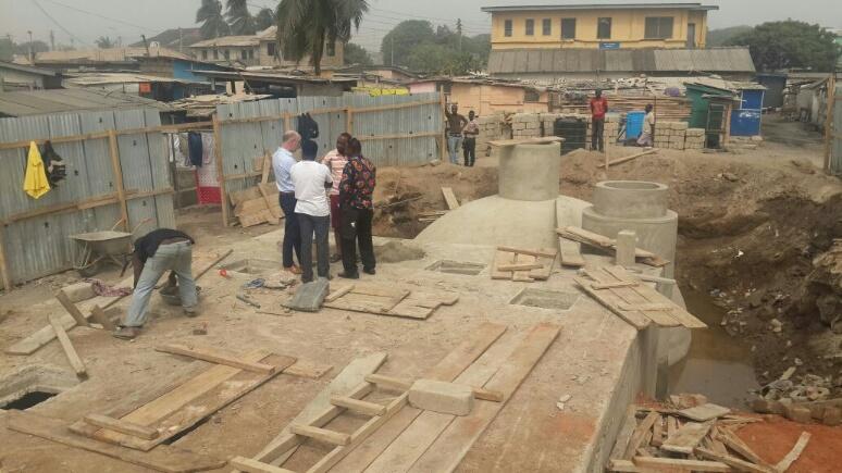 TST project Ghana