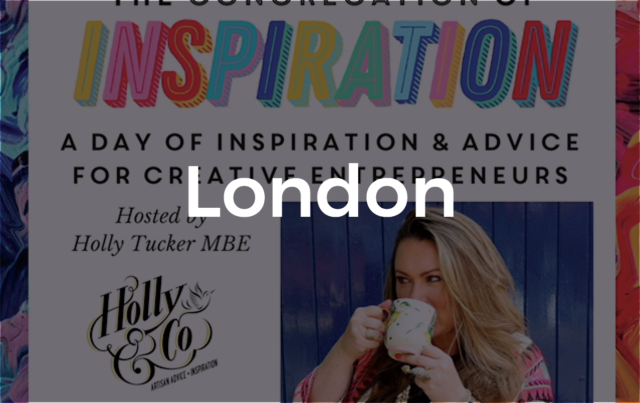 Hub Dot at 'The Congregation of Inspiration' by Holly Tucker - 28 September 2018 • 8.30 - 20.30REGISTER HERE