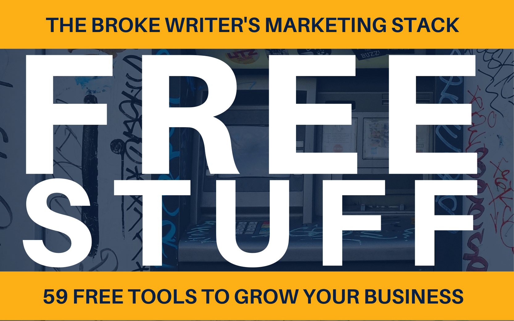 The Broke Writer's Marketing Stack