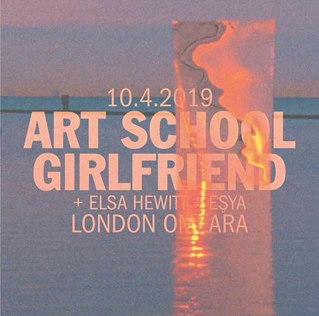Morning! Last few tickets left for London show next Wednesday. Support from @elsahewittx and @ayse_hassan 💘