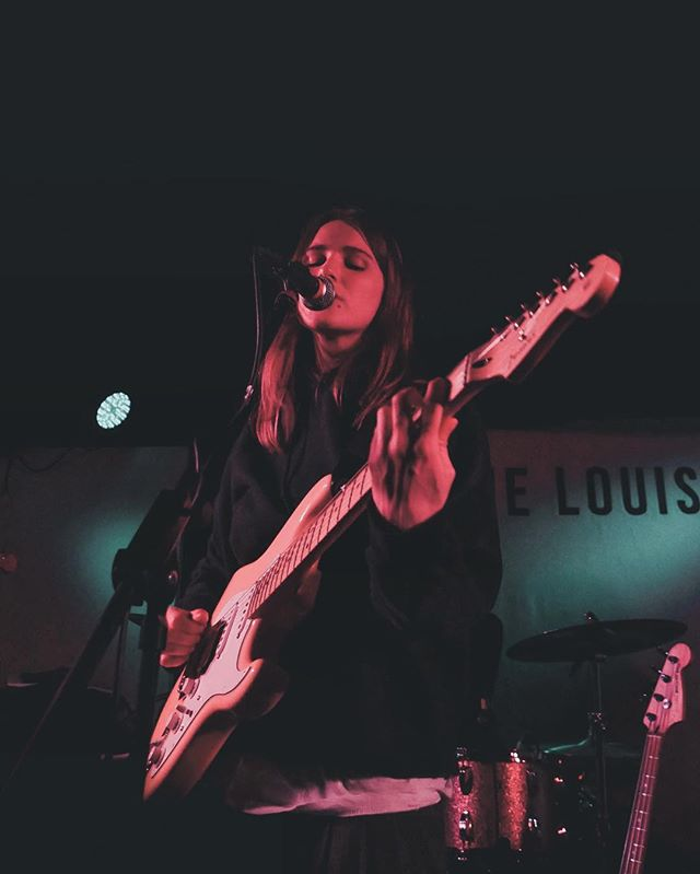 Leeds tonight! Come down early for @ayse_hassan ⚡️ Also big luv to @fender for my sweet new axe 💘