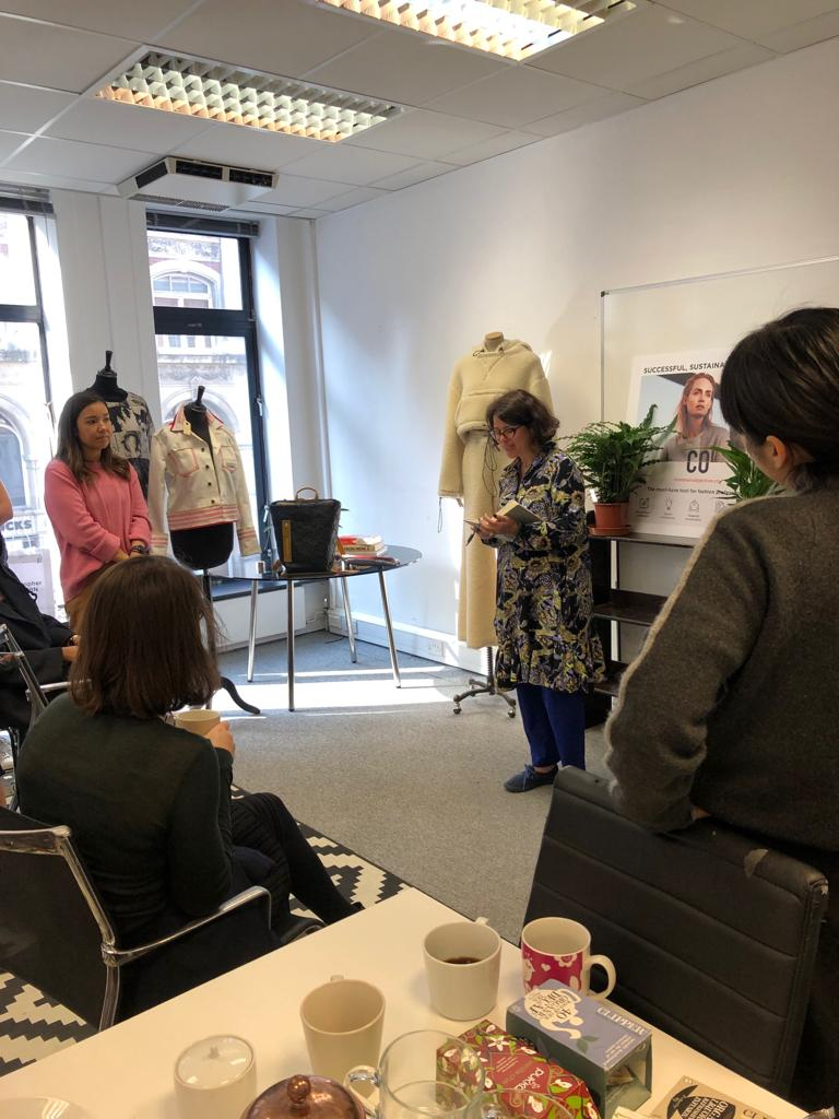 Fashion Open Studio Curator, Tamsin Blanchard, presenting the schedule for designer workshops and talks for 2019.