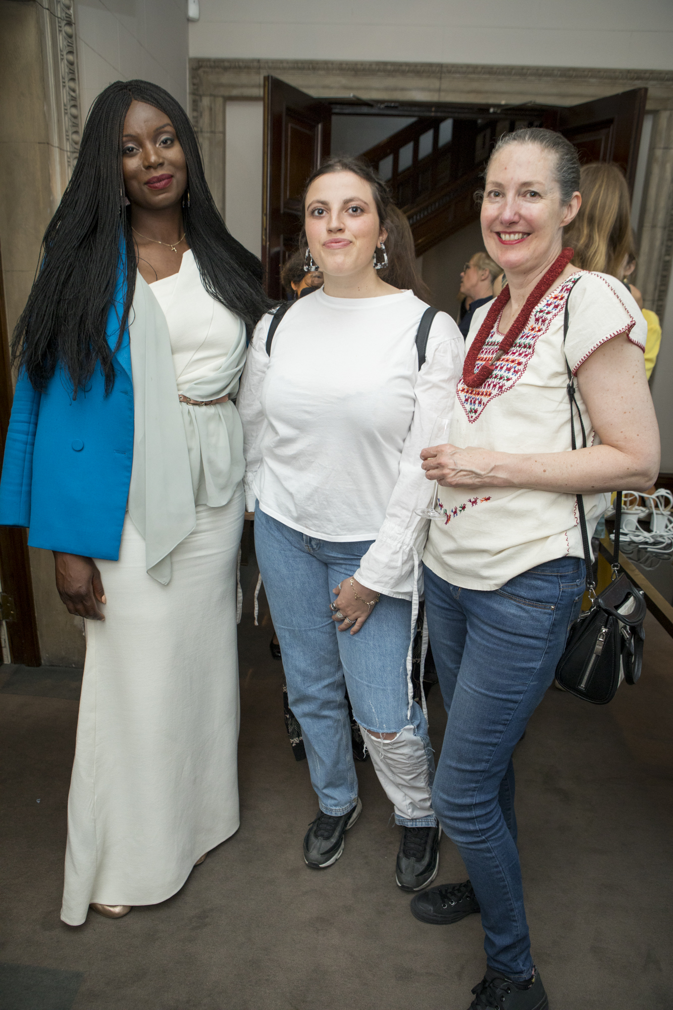 Jennifer Ewah - Founder, Eden Diodati (left); Deborah Milner - Couture Designer (right)