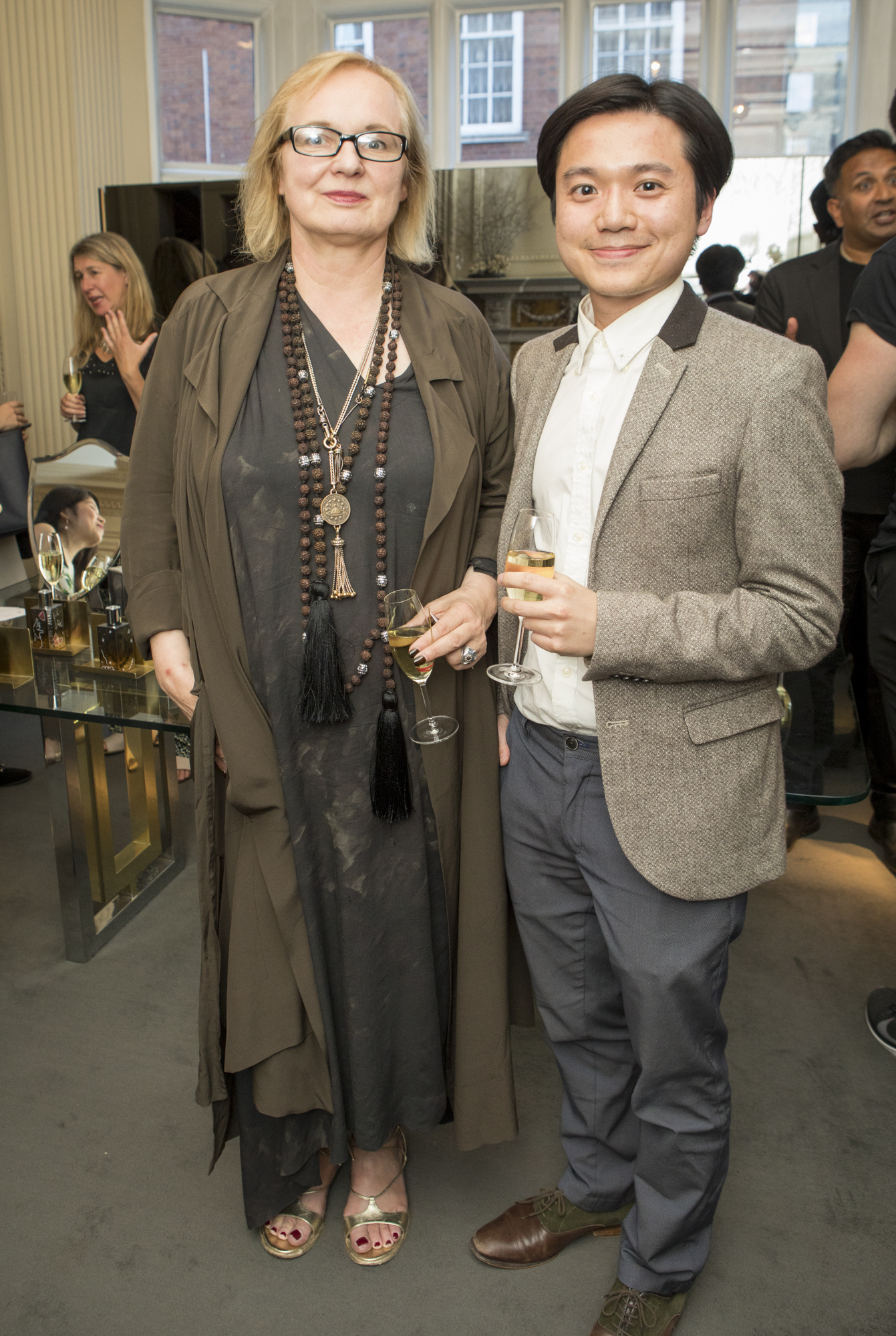 Brigitte Stepputtis - Head of Couture, Vivienne Westwood; Andre Wang - CEO, FavourUp