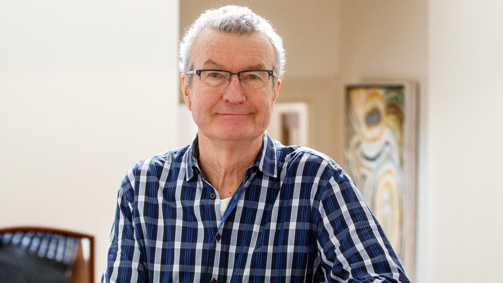 Adelaide writer, poet and doctor Peter Goldsworthy. Picture: Matt Turner