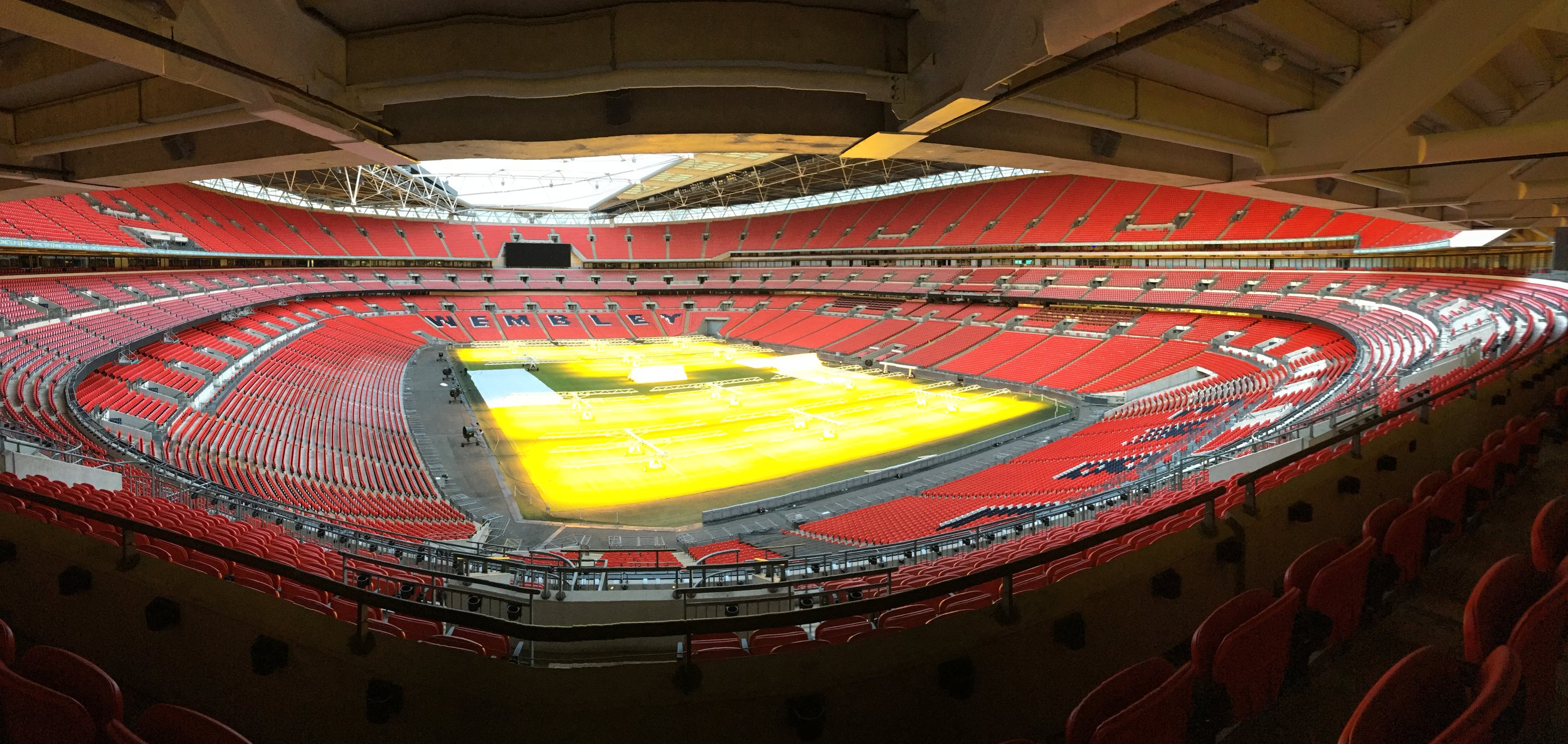 View of Wembley Stadium from the conference room