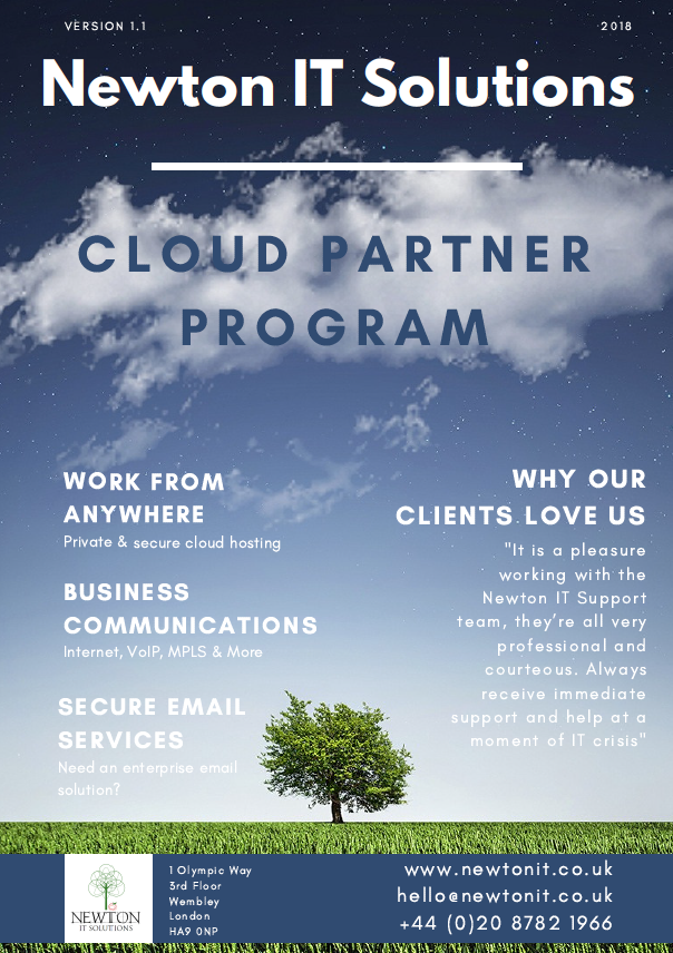 Newton IT Solutions - Reseller Brochure 2018.png