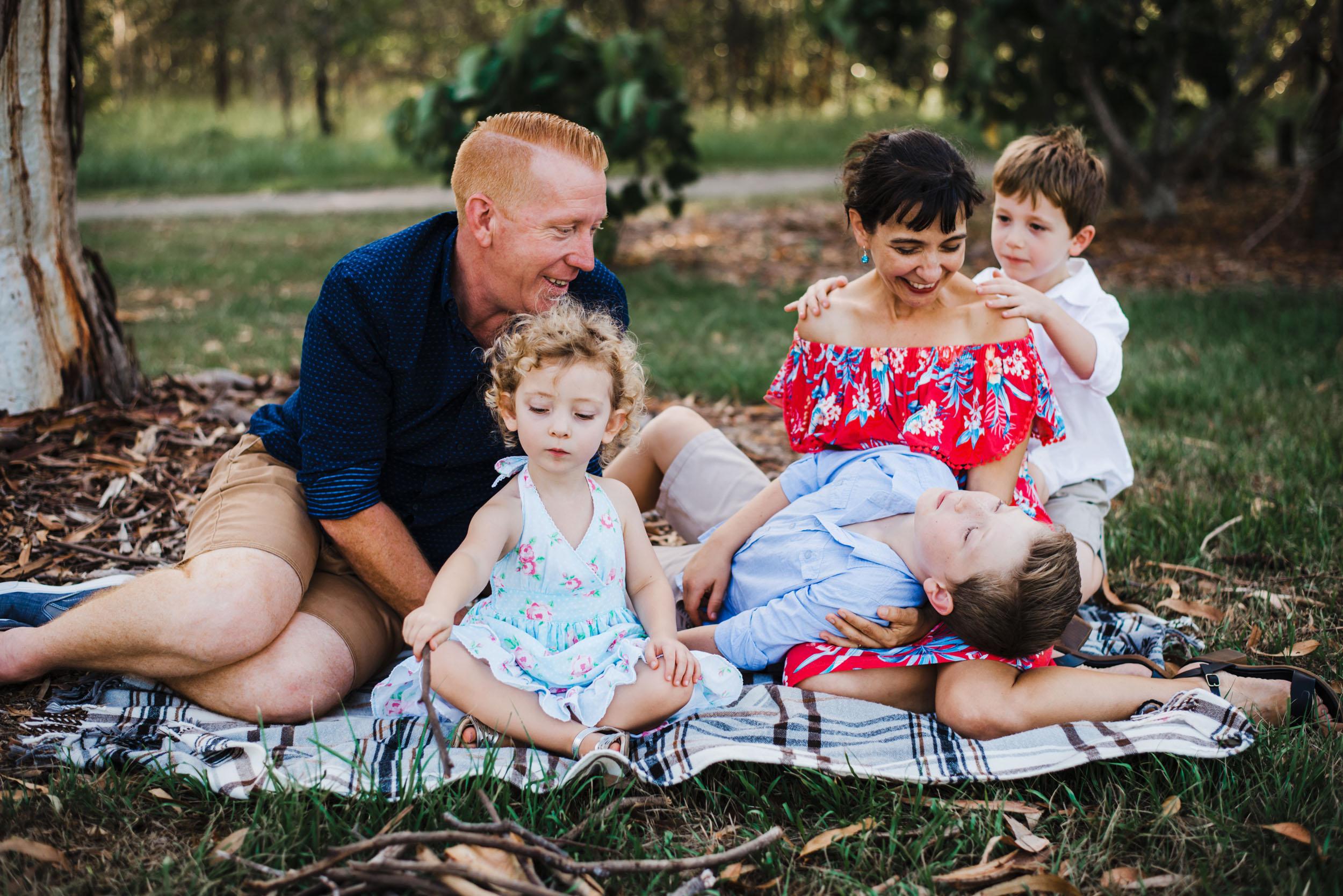 Katy Bindels Brisbane unposed family Photographer