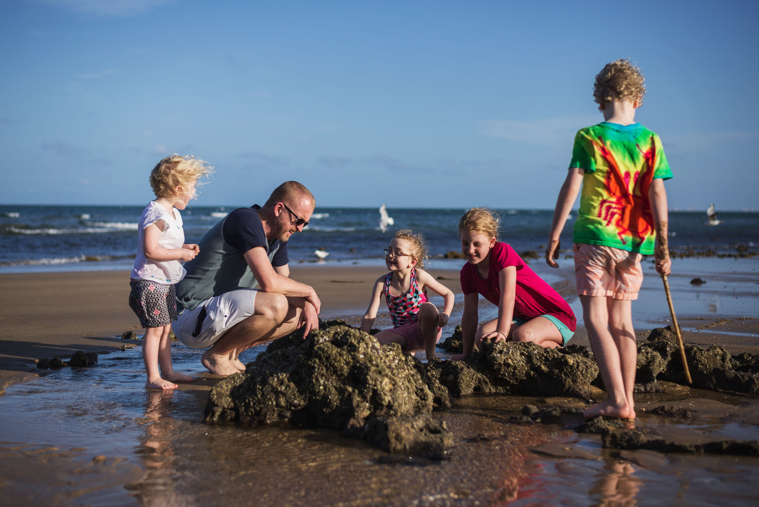 Katy Bindels Redcliffe family Photography beach