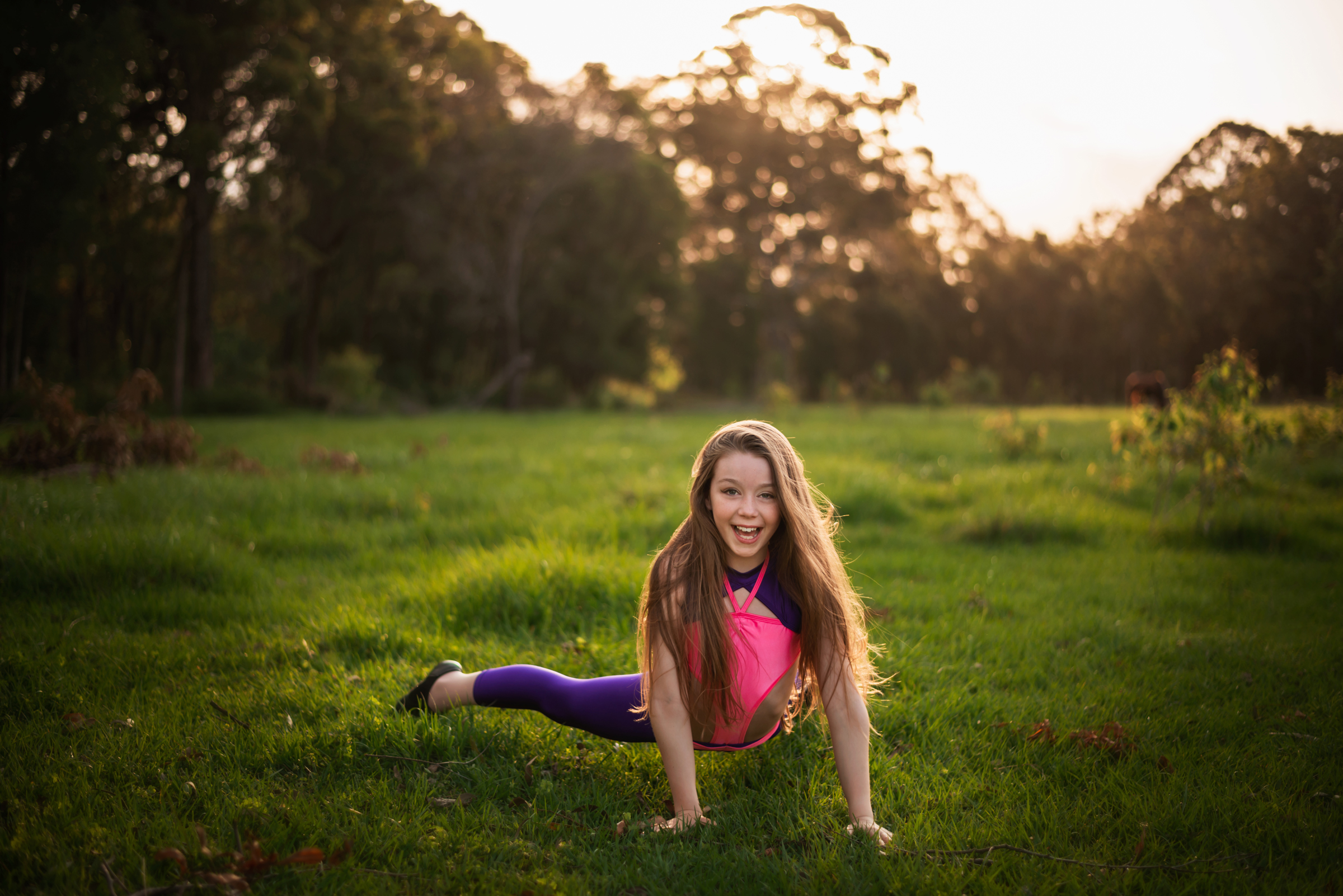 Portrait of young North Brisbane dancer