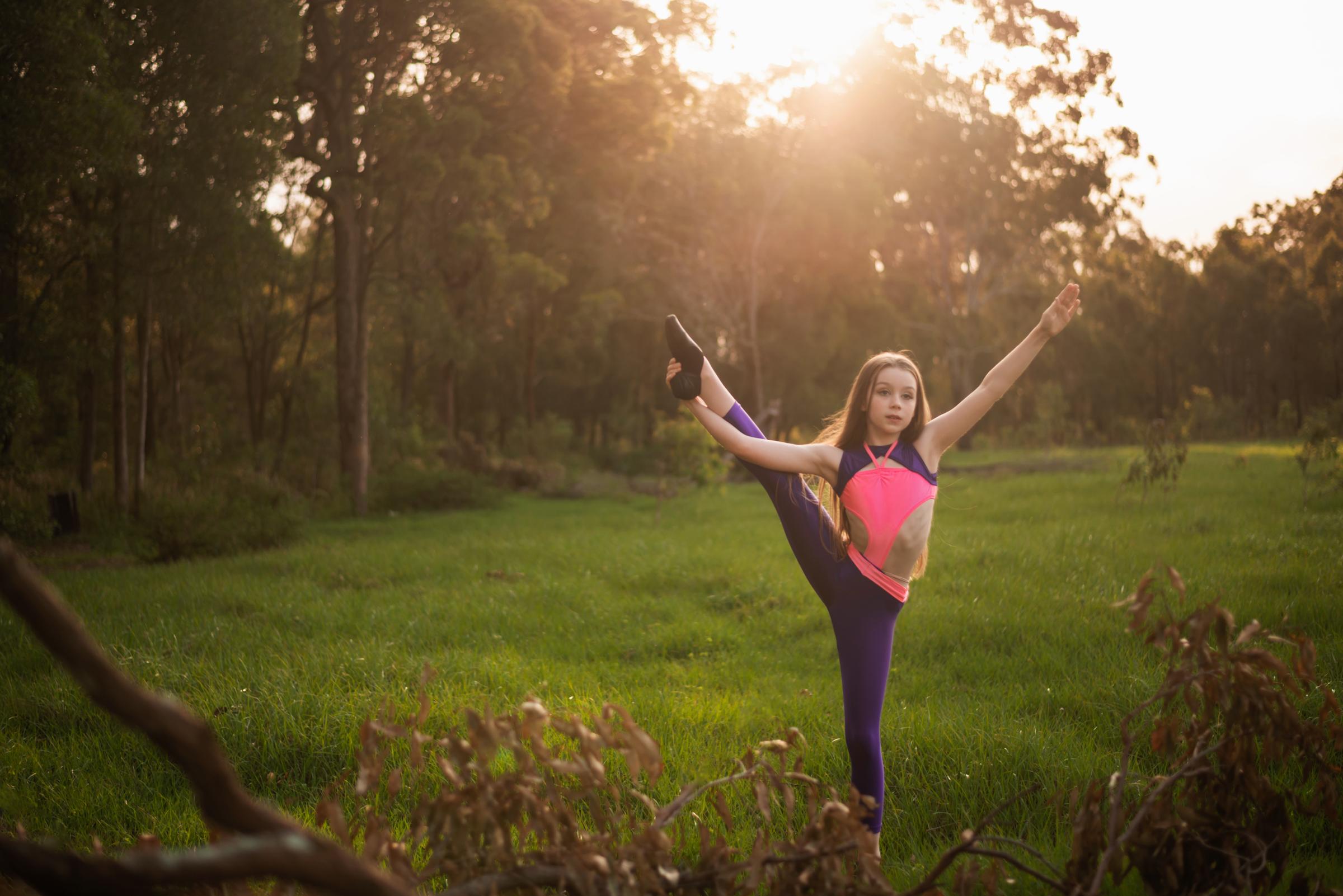 Young Brisbane dancer