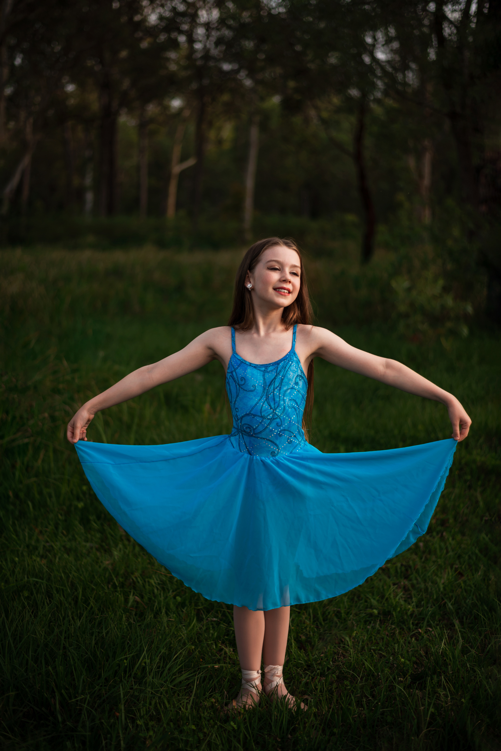 Portrait of Moreton Bay dancer in Bush