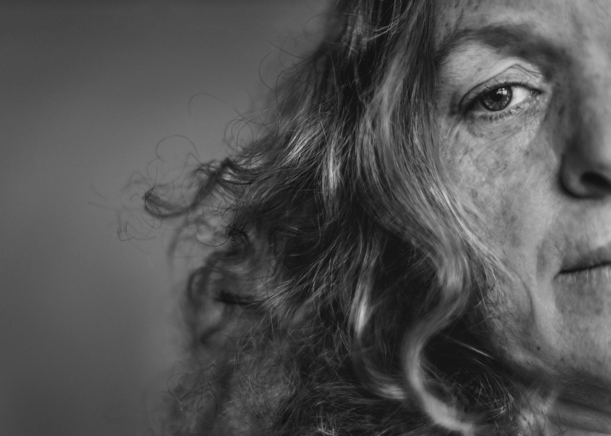 Self portrait of Photographer Katy Bindels