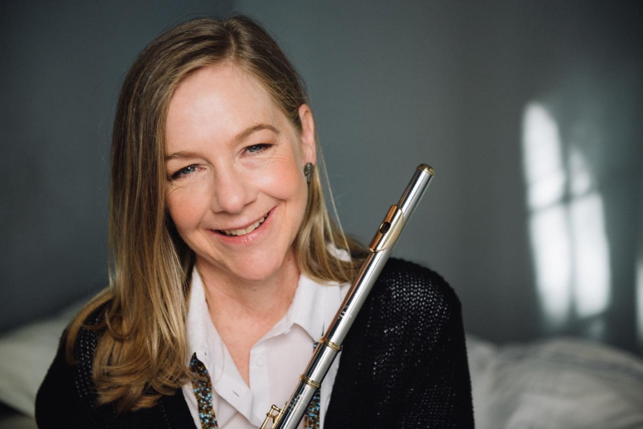 Katharine Rawdon, Representante Exclusiva em Portugal da Powell Flutes e Artista Powell