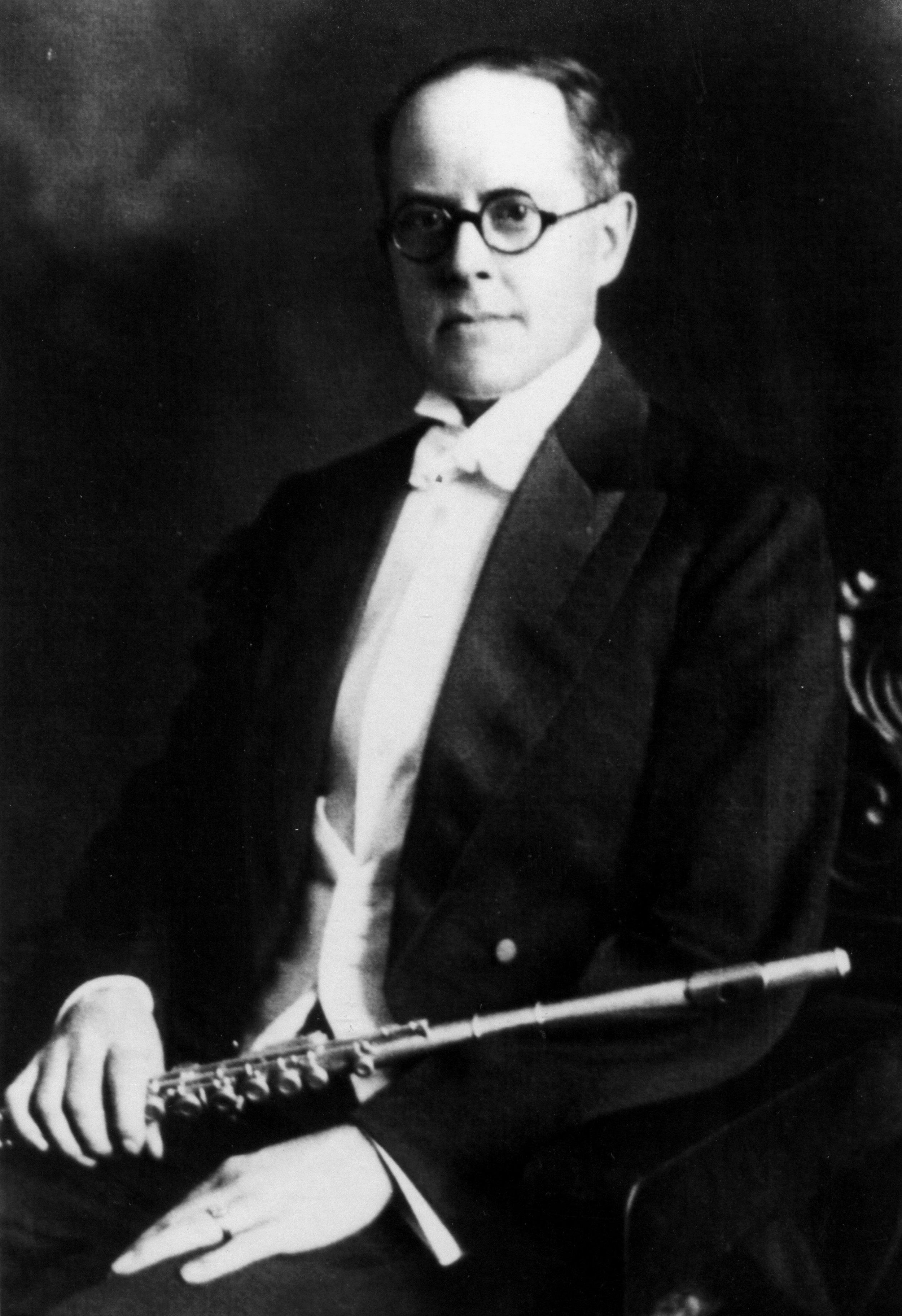 Verne Q. Powell, flautists-luthier, fundador da Powell Flutes