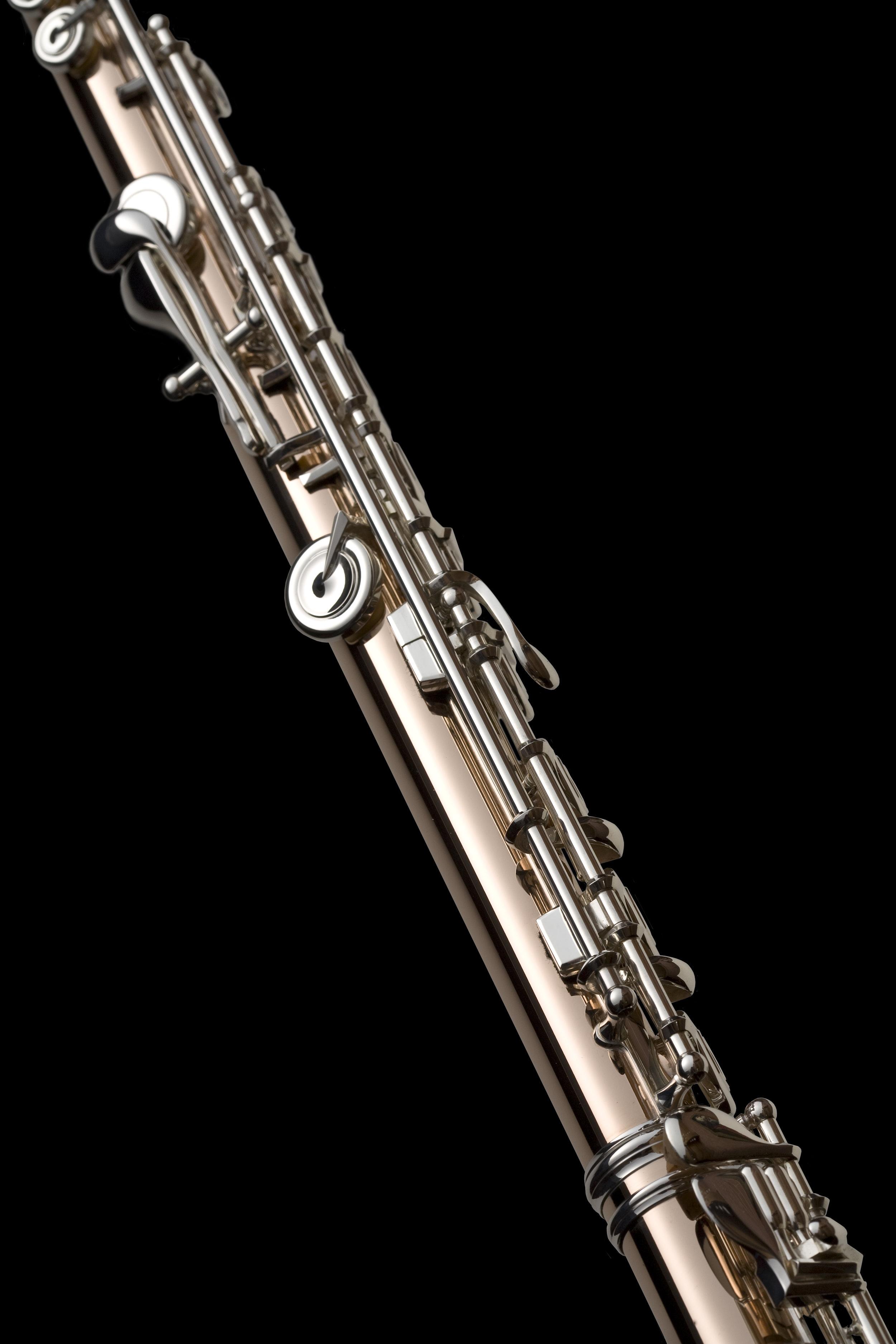 Uma Flauta Conservatory em Aurumite™ 9k e mecanismo  pinless
