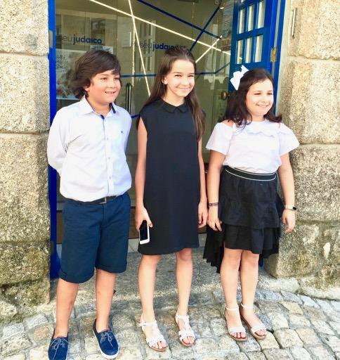 """Grandes pequenos flautistas, premiados no Concurso """"Sons de Cabral"""" em Belmonte, 2018"""