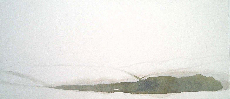 the glen traquair    watercolour  SOLD