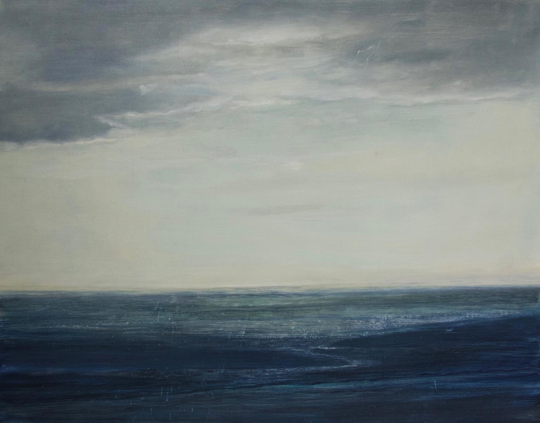 path of light-sandsayre  oil on gessoed panel  48x61 cm