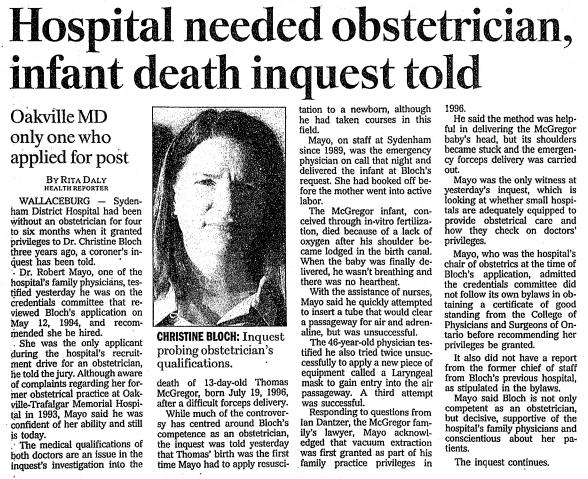 The Toronto Star, Oct 30 1997 pg A2