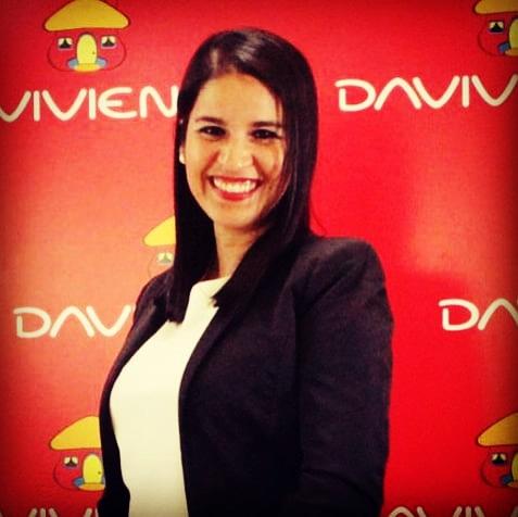 Gina Miller, Marketing Manager, Davivienda
