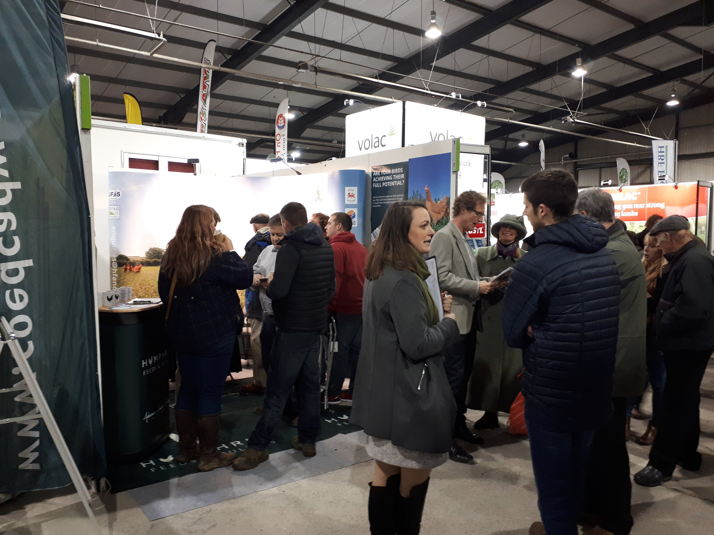 The stand - Welsh Winter Fair