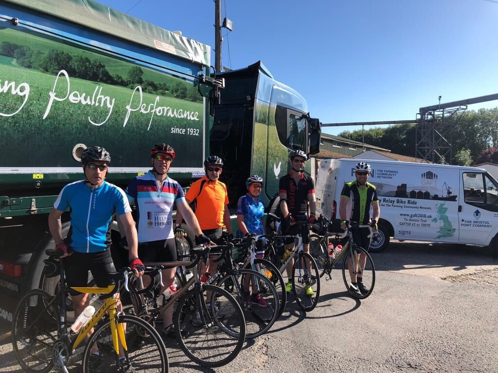 The Grain and Feed Tour Charity Bike Ride 2018