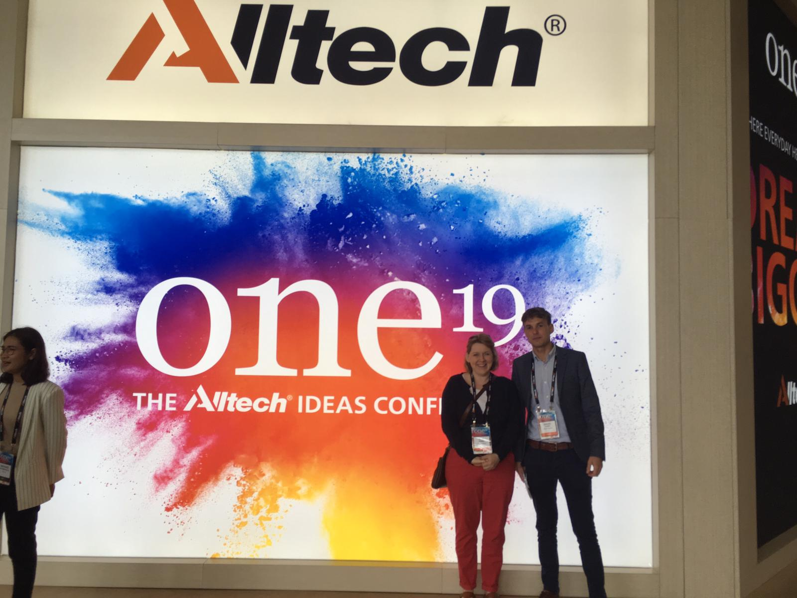 Humphrey Feeds and Pullets goes global at the Alltech Ideas Conference in Kentucky