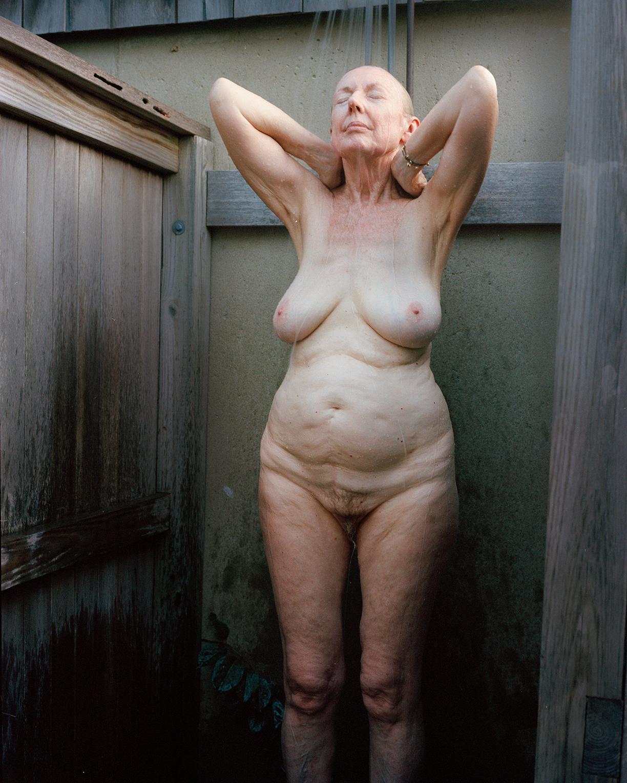 Jane in Shower