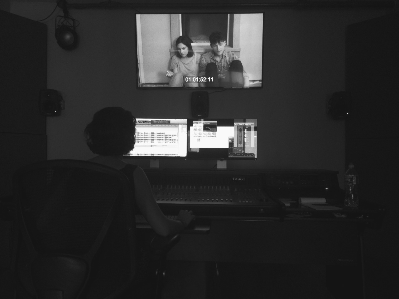 My film Maddie is finally complete and has been submitted to Sundance & SXSW! It has been quite the journey… Huge thanks to my talented cast and crew and everyone that helped along the way. I can't wait to share it with you on the big screen. Much love✌   Photo caption: Working on the final sound mix with our sound designer, Isilay
