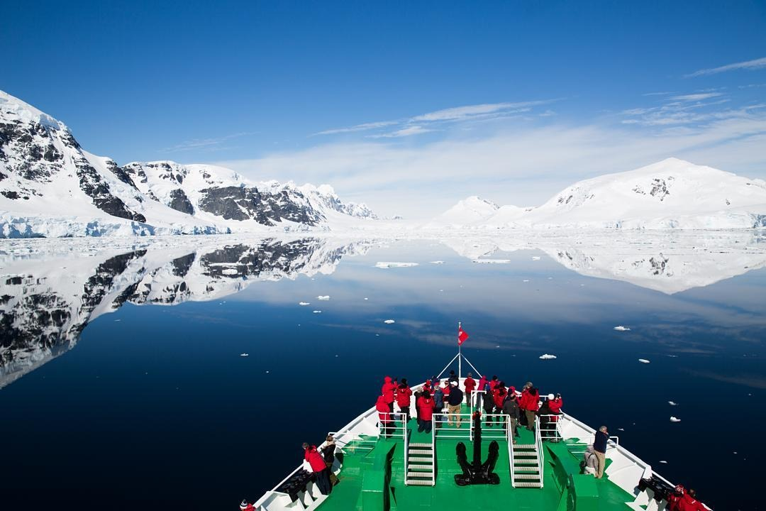 """""""Run from what's comfortable. Forget safety. Live where you fear to live. Destroy your reputation. Be notorious.""""     - Rumi    #antarcticaordie    (at Antarctica)"""