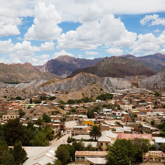 """This morning I walked to Bolivia from Argentina and stumbled upon this captivating landscape surrounding the small town of Tupiza.     As I was sitting in the town square I observed some locals playing with their kids and some local women dancing and singing in the streets. Locals greeted and smiled at me. It was beautiful and raw and it made me realize why I enjoy traveling so much.     This world is so much bigger than NYC, Orange County, or even the US; it's so easy to get caught up in our everyday lives and lose sight of the rest of the world out there. There is so much beauty everywhere on our planet and I want to discover it, experience it, and be transformed by it. I want to have a worldview that transcends cultures and continents.     I have a feeling that I will come home after these 2 months abroad completely transformed.     #antarcticaordie    (at Tupiza """"la Joya Bella De Bolivia"""")"""